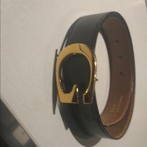 Gucci Accessories - ✨Black leather authentic GUCCI belt ✨